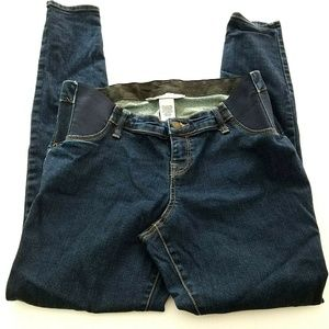 Liz Lange Jeans - Liz Lange Maternity Jeggings Small Elastic Insets